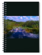 Reflecting In The Glades Spiral Notebook