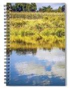 Reflecting On Corn Spiral Notebook