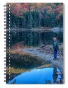 Reflecting On Fall Foliage Reflection Spiral Notebook