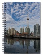 Reflecting On Toronto And Harbourfront  Spiral Notebook
