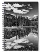 Reflecting Pond Spiral Notebook
