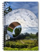 Reflecting The Countryside Spiral Notebook