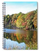 Reflecting Trees Spiral Notebook