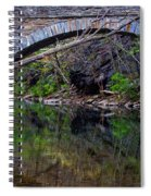 Reflecting While Fishing Spiral Notebook
