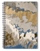Reflection Abstraction- Two Spiral Notebook