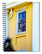Reflection Between The Columns Spiral Notebook