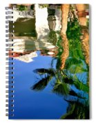 Reflection Gabezo And Trees 29478 Spiral Notebook