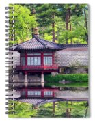 Reflection In Korea Spiral Notebook