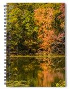Reflection Of Autumn Spiral Notebook