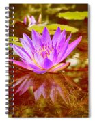 Reflection Of Beauty Spiral Notebook
