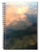 Reflection Of Clouds Spiral Notebook