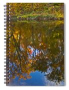 Reflection Of Fall Spiral Notebook