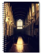 Reflection Of Light Spiral Notebook