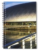 Reflection Of The Glasgow Science Spiral Notebook