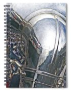 Reflection Of The Marching Band Spiral Notebook