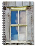 Reflection Of The Sky Spiral Notebook