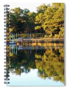 Reflection Of Trees Spiral Notebook