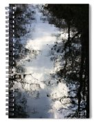 Reflection On Sweet Water Strand Spiral Notebook