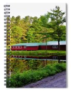 Reflection On The Pond Spiral Notebook