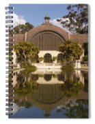 Reflection/lily Pond, Balboa Park, San Diego, California Spiral Notebook