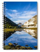 Reflection Pool Spiral Notebook