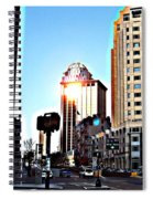 Reflections About Boston Spiral Notebook