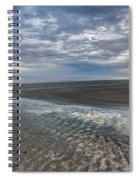 Reflections At Low Tide Spiral Notebook