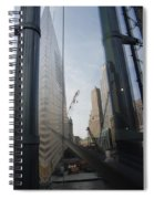 Reflections At The 9/11 Museum Spiral Notebook
