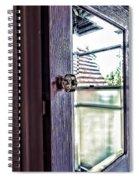 Reflections At The Landmark Des Moines Washington Spiral Notebook