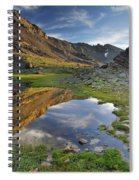 Reflections At The Mountain Lake Spiral Notebook
