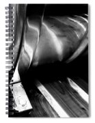 Reflections Bw Spiral Notebook