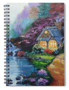 Reflections Cottage Spiral Notebook