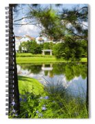 Reflections In A Tranquil Pond Spiral Notebook
