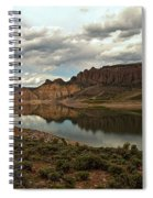 Reflections In Blue Mesa Spiral Notebook
