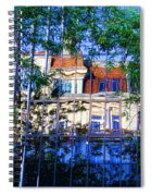 Reflections In The City Spiral Notebook