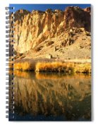 Reflections In The Crooked River Spiral Notebook