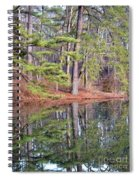 Reflections In The Pines Spiral Notebook