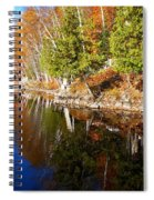 Reflections In Water Spiral Notebook
