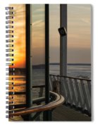Reflections Of A Chesapeake Sunset Spiral Notebook