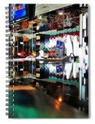 Reflections Of A Diner 3 Spiral Notebook