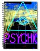 Reflections Of A Psychic Spiral Notebook