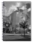 Reflections Of A Storm Spiral Notebook