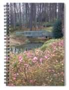 Reflections Of A Walking Bridge Spiral Notebook
