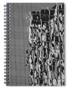 Reflections Of Architecture In Balck And White Spiral Notebook