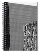 Reflections Of Architecture In Black And White Spiral Notebook
