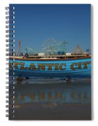Reflections Of Atlantic City Spiral Notebook