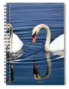 Reflections Of Elegance Spiral Notebook