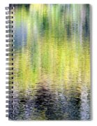 Reflections Of Fall 3 Spiral Notebook