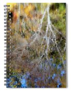Reflections Of Fall 5 Spiral Notebook