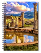 Reflections Of Past Glory Spiral Notebook